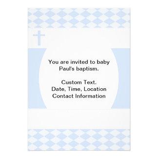 Baptismo do bebé convite personalizados