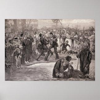 Baptismo do negro nos Estados Unidos Pôsteres