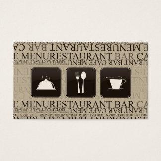 Bar Barista do garçonete do cartão de perfuração