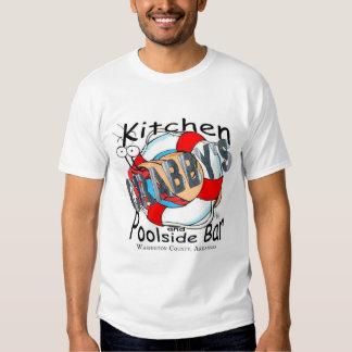 Bar Crabby da cozinha e da piscina Tshirt