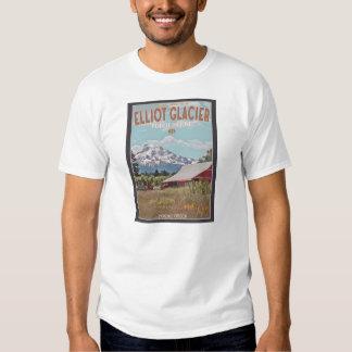 Bar da geleira de Elliot Camisetas