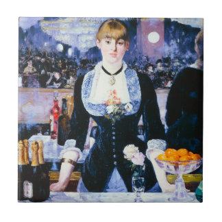 Bar de Manet no Folies Bergere