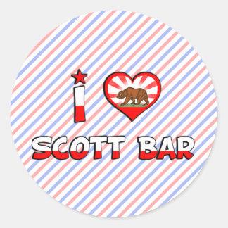 Bar de Scott CA Adesivo