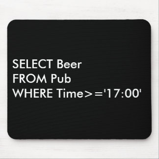 Bar SQL Mouse Pad