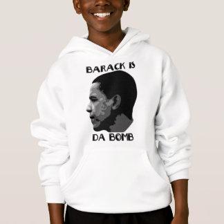 Barack é o Hoodie dos homens da bomba