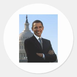 Barack Obama Adesivos Redondos