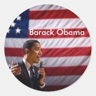 Barack Obama Adesivos Em Formato Redondos