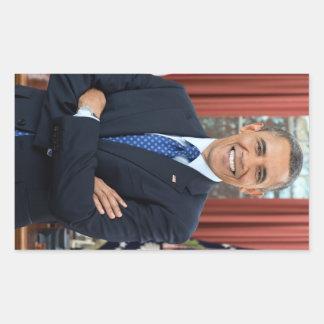 Barack Obama Adesivo Retangular