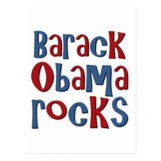 Barack Obama balança camisetas e presentes Cartão Postal