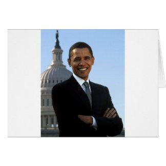 Barack Obama Cartão Comemorativo