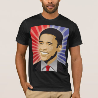 Barack Obama corajoso Camiseta