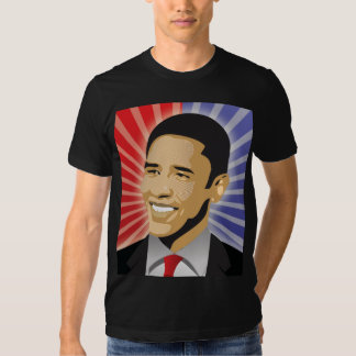 Barack Obama corajoso Tshirt