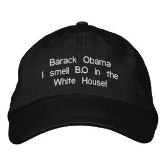 Barack Obama eu cheiro B.O na casa branca! Boné Bordado