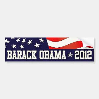 Barack Obama para o presidente em 2012 Adesivo Para Carro