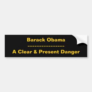 Barack Obama---------------------Um claro & um Pre Adesivo Para Carro