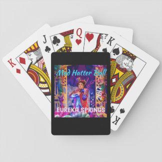 Baralho 2017 cartões de jogo loucos da bola do Hatter