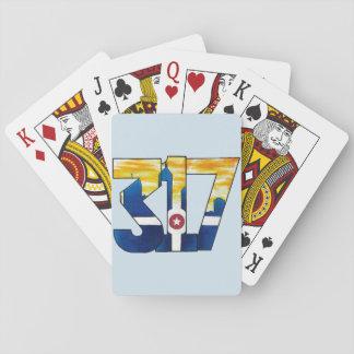Baralho 317 cartões de jogo