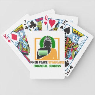 Baralho A paz interna estimula o sucesso financeiro