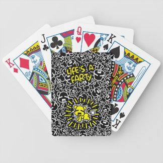 Baralho A vida é cartões de jogo de Farty