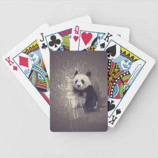 Baralho Abstrato bonito da panda