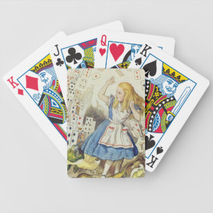 Baralho Alice no país das maravilhas, o chá dos cartões