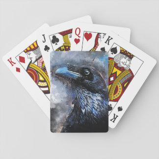 Baralho #animals do #bird do #crow da arte do corvo