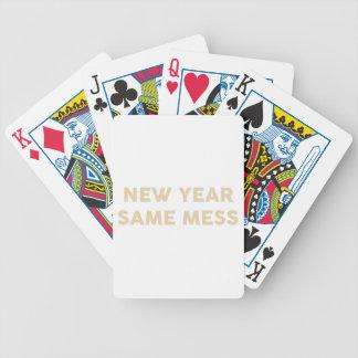 Baralho Ano novo mesmos sujam