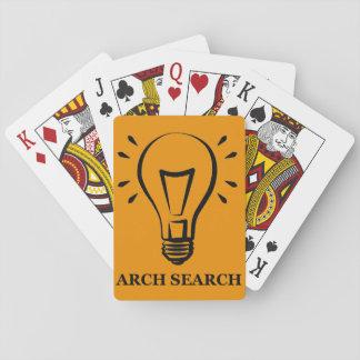 Baralho Arch Search (ODT) Jogo De Carta