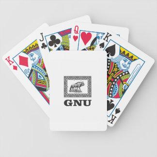 Baralho Arte do poder do Gnu