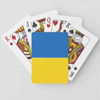 Baralho Bandeira de Ucrânia