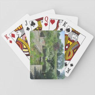 Baralho Bloco de cartões de jogo com imagem da lagoa