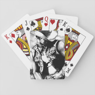 Baralho Bloco de cartões de jogo originais do vaqueiro da