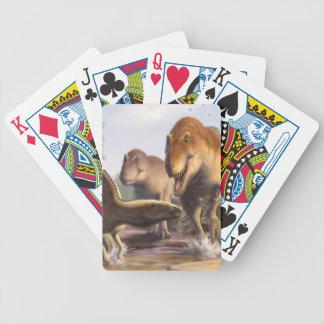 Baralho Canecas e cartões de jogo com trabalhos de arte do
