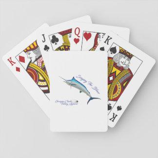 Baralho Cantando os cartões de jogo dos azuis