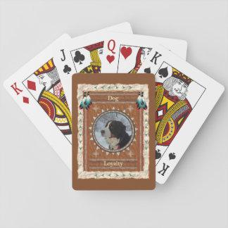 Baralho Cão - cartões de jogo clássicos da lealdade