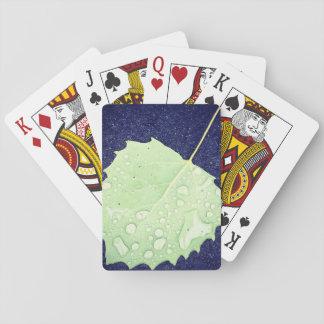 Baralho Caras padrão temáticos do índice do cartão de jogo