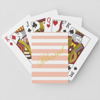 """Baralho Cartões de jogo """"abençoados"""""""