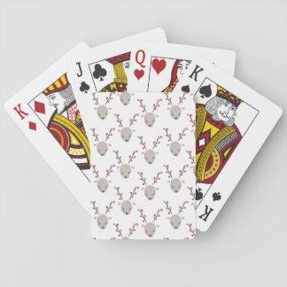 Baralho Cartões de jogo adoráveis bonitos da rena da