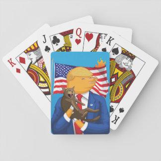 Baralho Cartões de jogo americanos da catástrofe