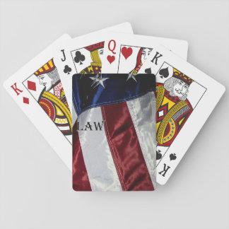 Baralho Cartões de jogo - bandeira dos EUA - vida após a