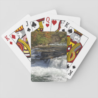 Baralho Cartões de jogo bonitos da cachoeira