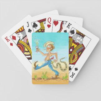 """Baralho Cartões de jogo """"chocalhados"""""""