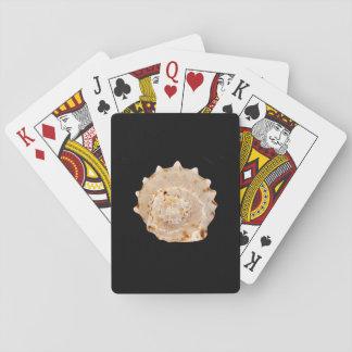 Baralho Cartões de jogo clássicos de Shell do Conch