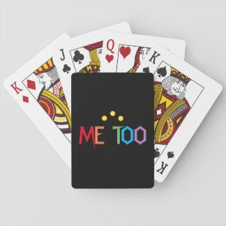 Baralho Cartões de jogo coloridos IMITAÇÓISIS do arco-íris