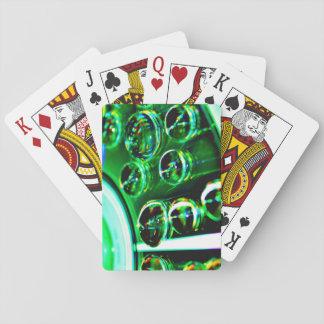 Baralho Cartões de jogo com parte traseira da imagem do