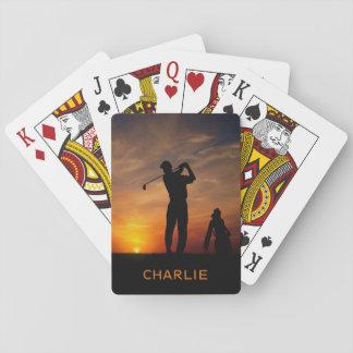 Baralho Cartões de jogo conhecidos feitos sob encomenda do