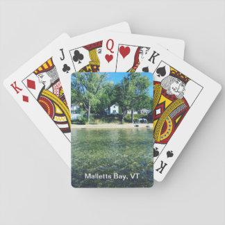 Baralho Cartões de jogo da baía de Malletts
