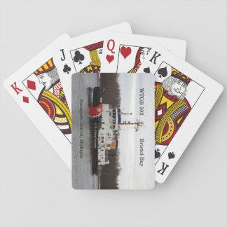 Baralho Cartões de jogo da baía de WTGB 102 Bristol