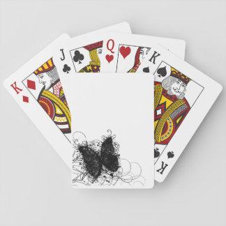 Baralho Cartões de jogo da borboleta