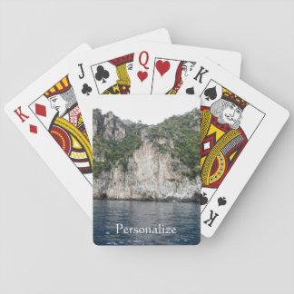 Baralho Cartões de jogo da costa de Amalfi
